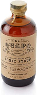 product image for El Guapo Tonic Syrup - British Colonial Style 8.5oz Glass Bottle