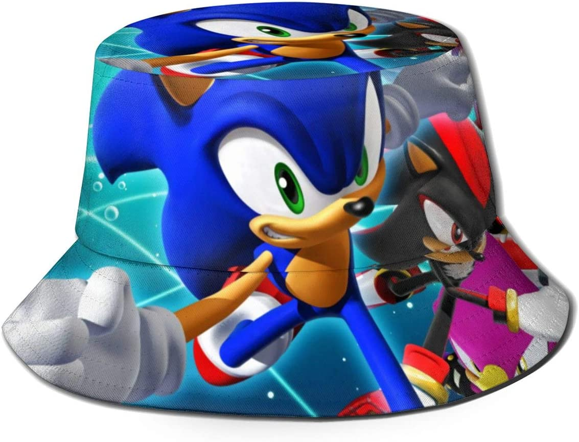 Amazon Com Jianglamghi Cool And Cute Anime Unisex Sonic The Hedgehog Bucket Hat Summer Fisherman Hat Trend Outdoor Hat Wild Hat Cool Hip Hop Style Suitable For Sports Or Party Home Kitchen