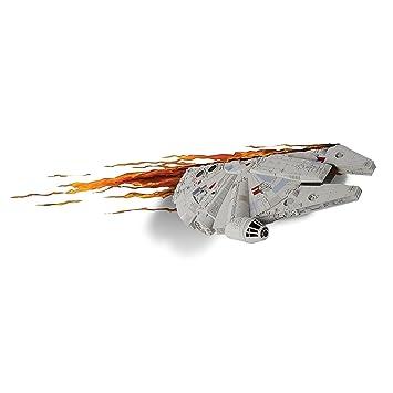 Amazon.com: Star Wars Millennium Falcon 3D LED Wall Light: Home ...:Star Wars Millennium Falcon 3D LED Wall Light,Lighting