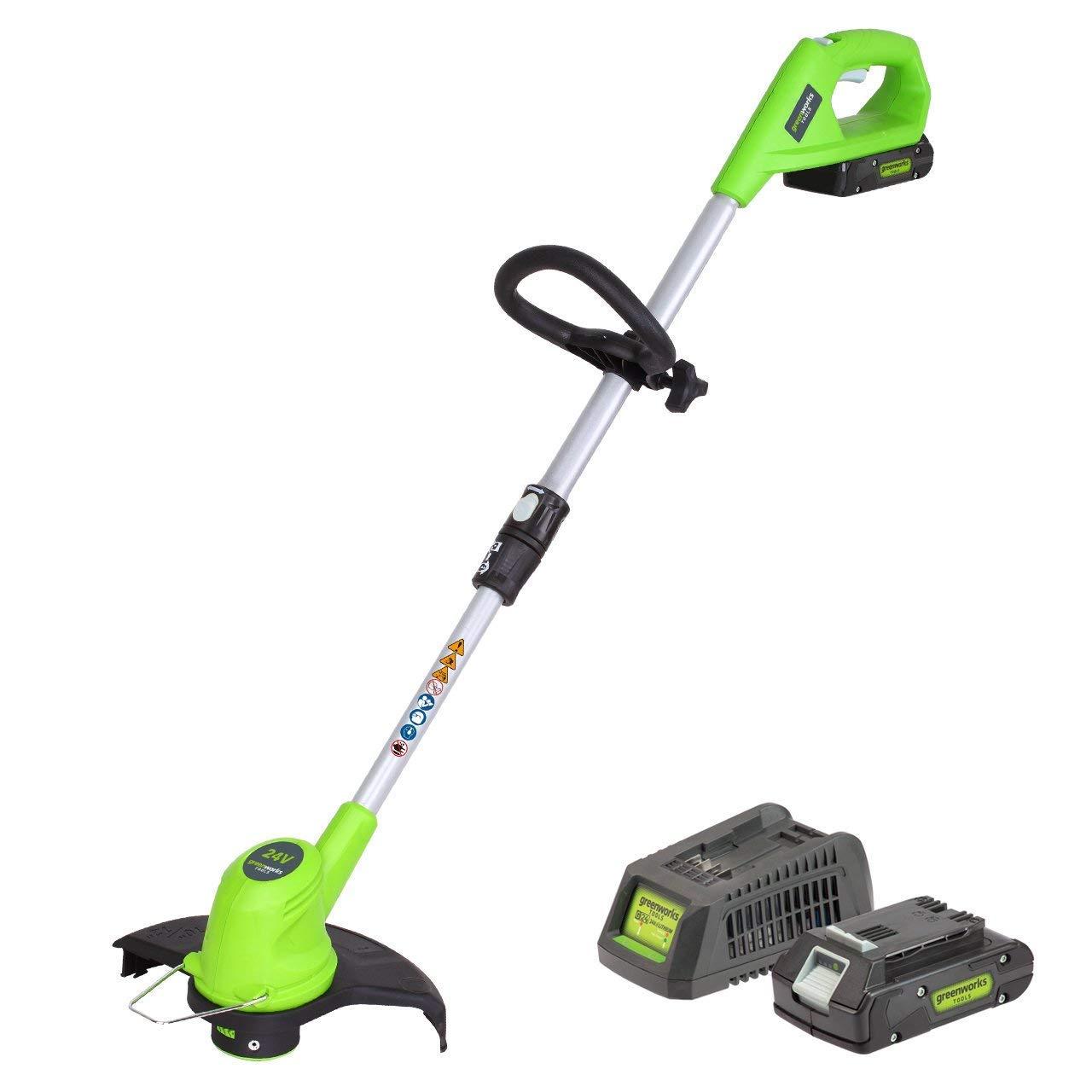 Greenworks tools 2100107VA - Bordeadora inalámbrico con batería ...