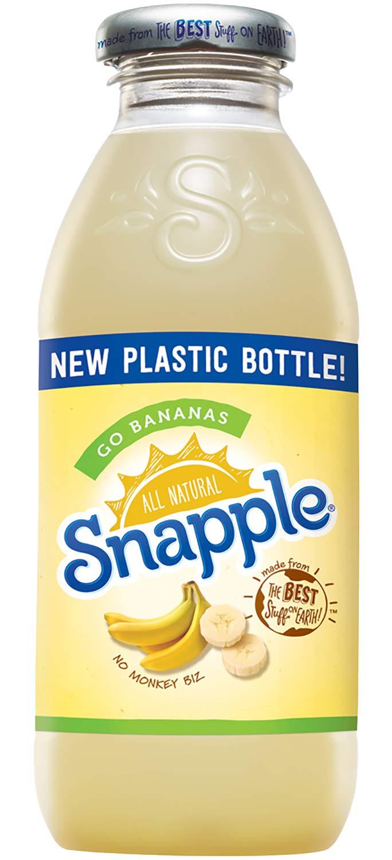 Snapple - Go Bananas - 16 fl oz (24 Plastic Bottles) by Snapple (Image #1)
