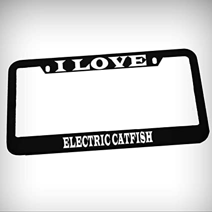 Amazon.com: I Love Electric Catfish? Placa de metal de zinc ...