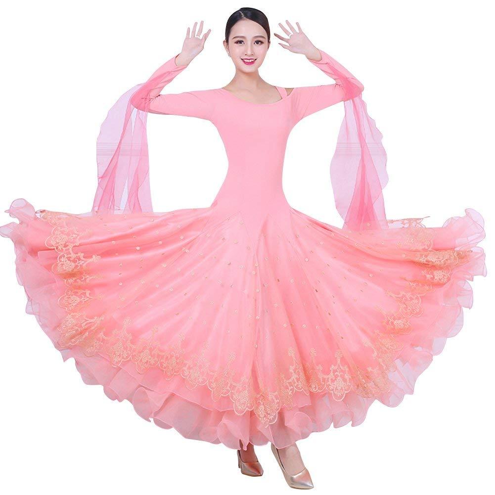 全てのアイテム garuda 社交ダンス衣装 B07PGHCV2P レディースダンス ピンク,XL ワルツドレス 競技ワンピース garuda サイズオーダー可 ピンク B07PGHCV2P ピンク,XL, ゴダイ:2eabffce --- a0267596.xsph.ru