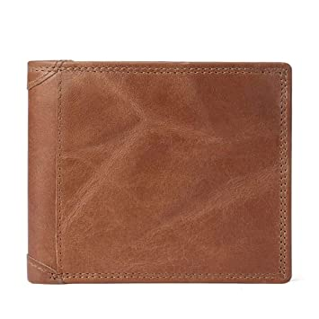 Happyplus1 Cartera Corta para Hombre, Monedero RF (Color ...