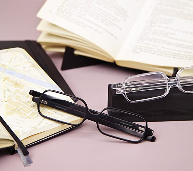260fcb2ed122 Moleskine Reading Glasses - Transparent Diopter +1.5  Moleskine   Amazon.co.uk  Office Products