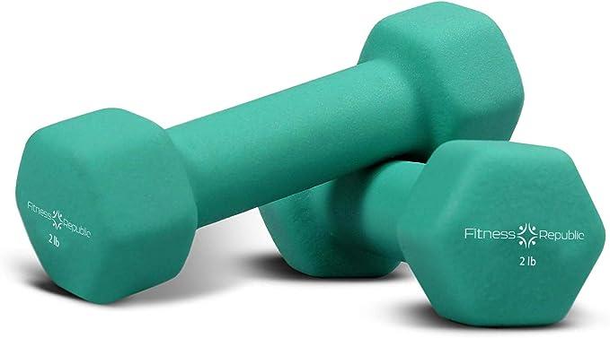 Neoprene Bone Shape Dumbbells Cast Iron Hand Weights Ladies Gym Exercise Fitness