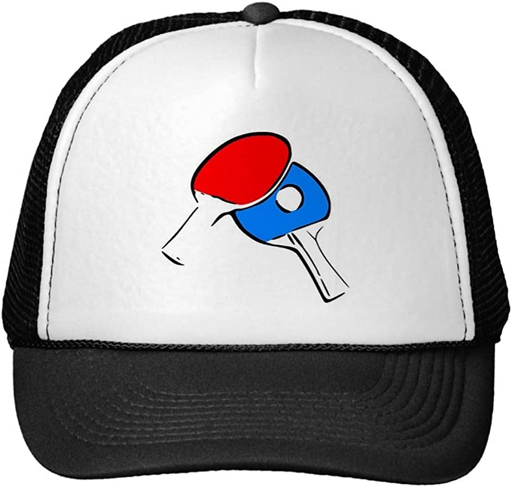 Smity 106 Ping Pong Red and Blue Trucker Hat
