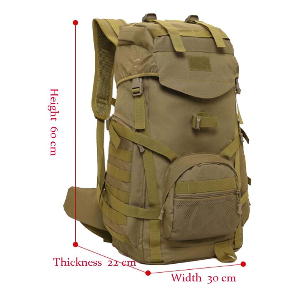 3e99c340151e Tactical military hiking backpack large waterproof bag outdoor backpack for  hunting camping hiking sports outdoors jpg
