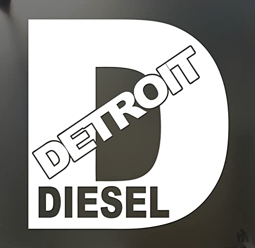Amazon com detroit diesel turbo chevy sticker funny rolling coal fwd truck window die cut vinyl decal for windows cars trucks tool boxes laptops