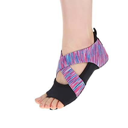 DOACT 1 Par Zapatos Antideslizantes de Yoga para Mujeres con ...