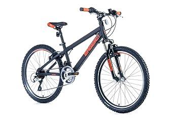 24 pulgadas aluminio Leader Fox Dispuesto bicicleta de montaña ...