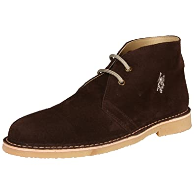 U.S. Polo - Zapatos de Cordones para Hombre marrón marrón Oscuro ...