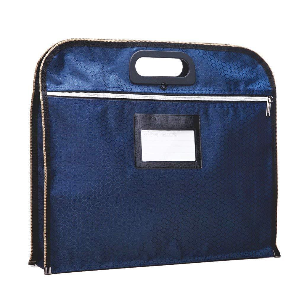 B4 Dokumententasche Wasserdicht Dicke Messenger Bag Aktentasche Handtasche Mappe Businesstasche Visitenkartentasche mit verstärktem Tragegriff für Geschäftsleute JIAHG