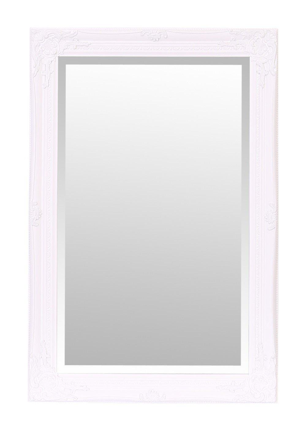 Selezionare specchi Rhone specchio da parete/ /60/cm x 90/cm/ /French Vintage /shabby chic Home Decor by stile rococ/ò barocco/ /bianco/