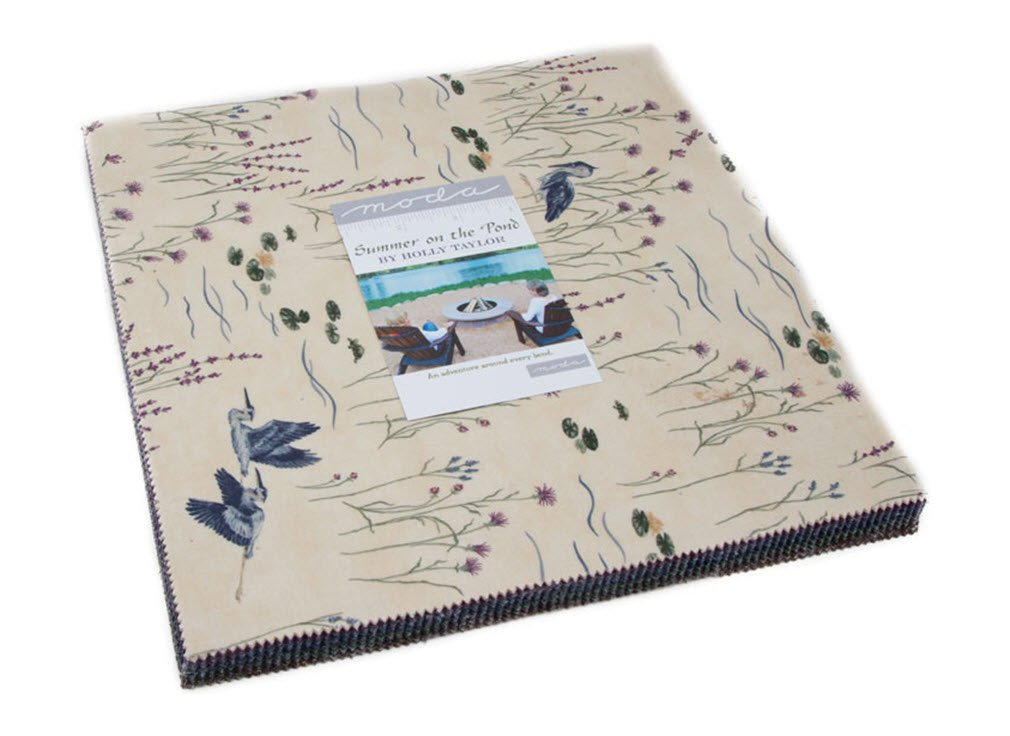 Summer on the Pond by Holly Taylor Layer Cake 42 10-inch Squares Moda Fabrics 6720LC