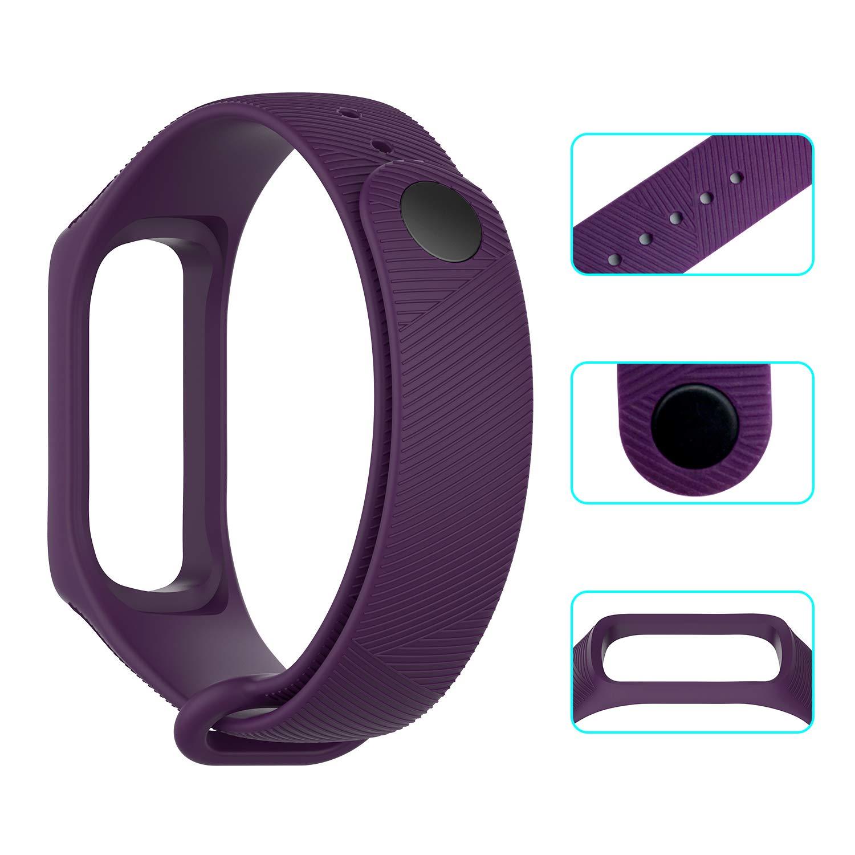 NEWZEROL 3 Piezas con Las Correas Protectoras de Samsung Galaxy Fit-e R375 Banda Protectora Fitness Tracker - Correas de liberación rápida para ...