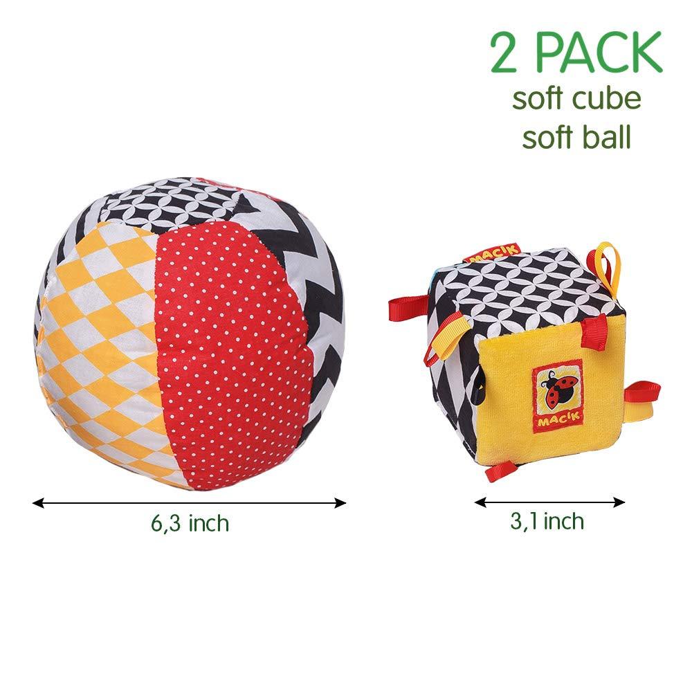 Amazon.com: MACIK - Set de 2 juguetes para bebé, juguetes ...