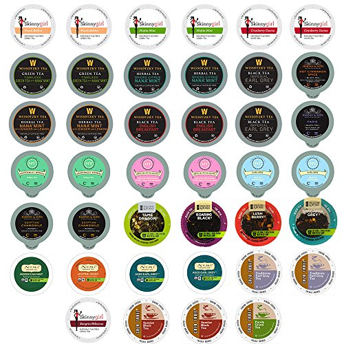 40-count TEA Single Serve Cups for Keurig K Cup Brewers Variety Pack Sampler