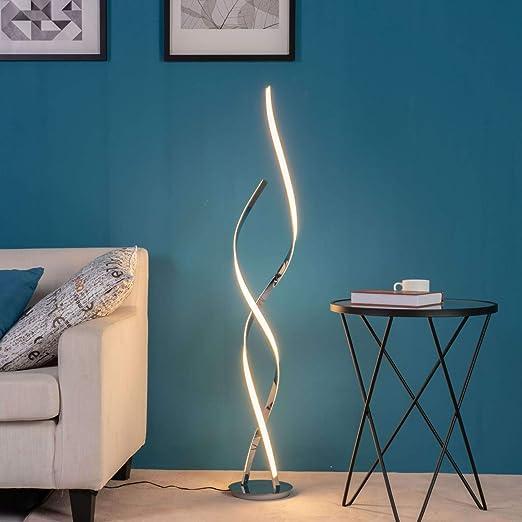Cascada Lámpara de pie, led, UltraDiseño – 126 cm: Amazon.es: Iluminación