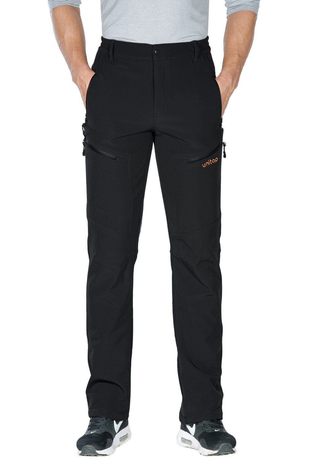 7f67a411535 Unitop Men s Winter Warmth Water-Resistant Snowsports Ski Snow Pants  product image