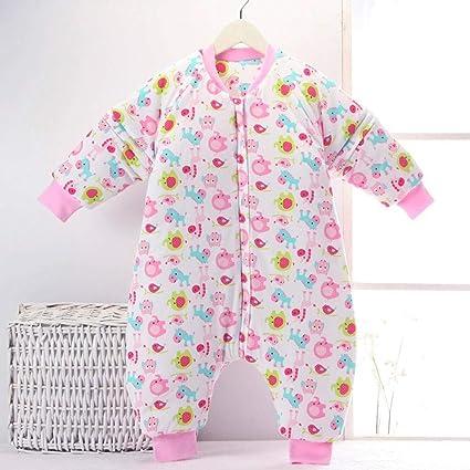 Gleecare Saco de Dormir para bebé,Otoño e Invierno Engrosamiento de Pijamas de Pierna de