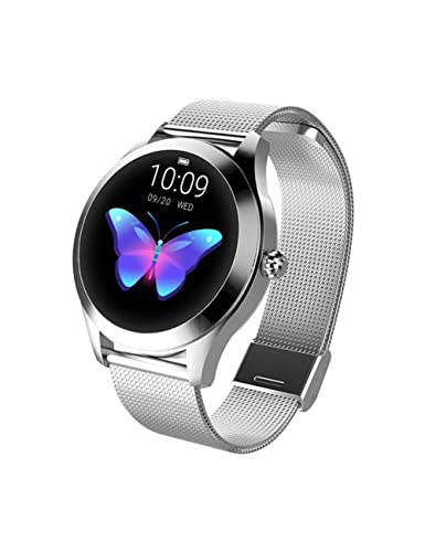 DZKQ Reloj Inteligentereloj Inteligente para Mujer Monitor ...