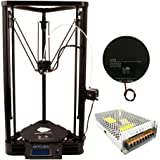 Anycubic Linear Plus Version Unassemble Delta Rostock 3D Printer Kossel Kit Large Print Size with Heatbed and Power Supply