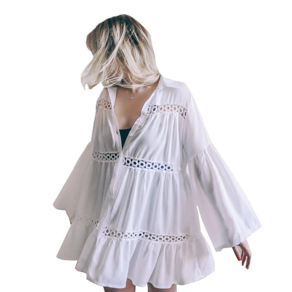 Tossun Women's Bathing Suit Cover up Bikini Swimwear Dress Coverups Beach Swimsuit by Tossun (Image #5)