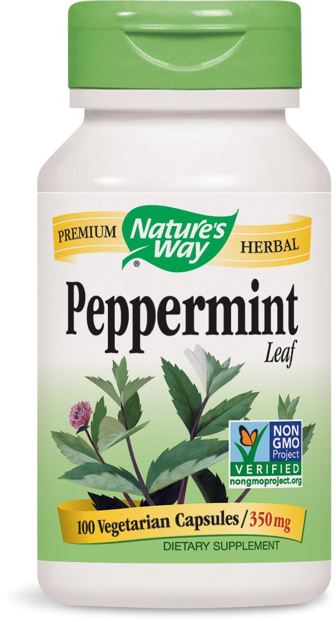 Nature's Way Peppermint Leaf 350 Mg, 100 Vcaps, 100 Count