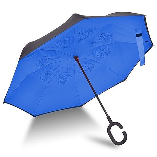 195 opinioni per Ombrello con meccanismo di apertura riverso invertito utilissimo in caso di