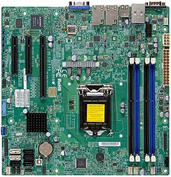 LGA 1150 Micro ATX DDR3 ECC NON-REGIST SuperMicro X10SLL-F SERVER board /& I//O