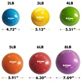 A2ZCARE Toning Ball - Soft Weighted Mini