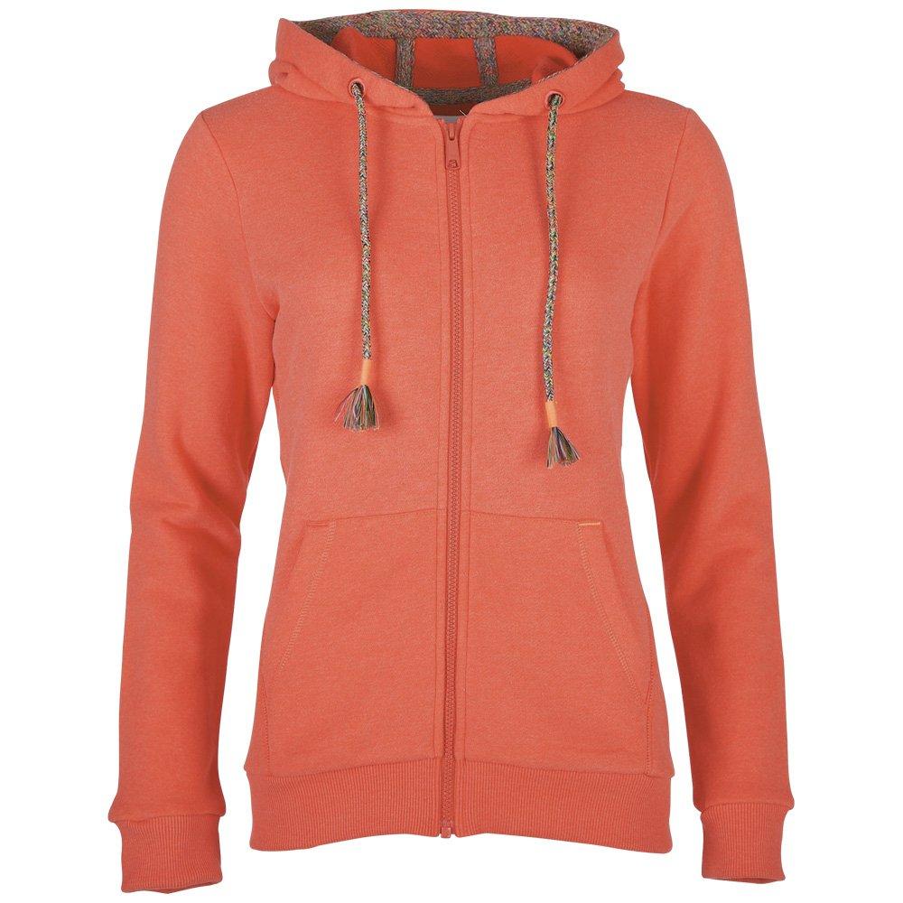 Sweatshirt jacke damen orange