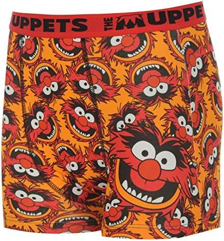 Herren Charakter Boxer Shorts Muppets Tier Instinkt