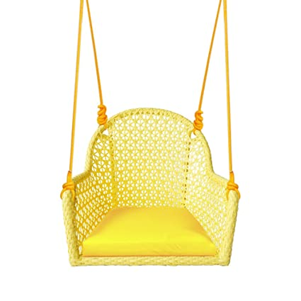 Incroyable ART TO REAL Pack Of 2 Wicker Porch Swing Chair For Children Or Adult,  Hanging