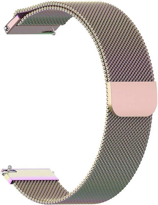 Correa de reloj de pulsera de acero inoxidable para reloj juvenil Xiaomi Amazfit Bip