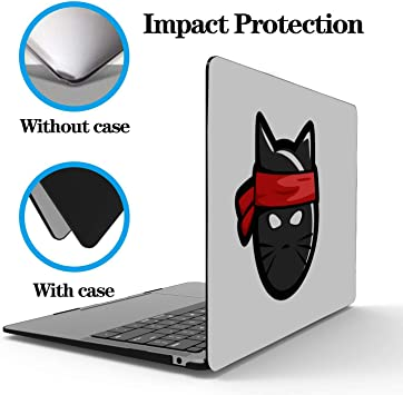 """Cool Cat Laptop Hardshell Case Cover for Apple Macbook Air Pro 13/"""" 15/"""" 2016-2018"""