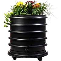 WormBox : Vermicompostador 3 bandejas Negro + Jardinera - 56 litros