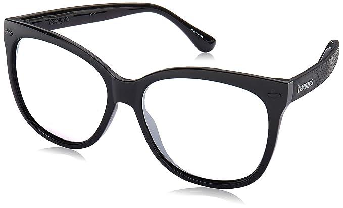 Havaianas Sahy Gafas de sol, Multicolor (Black), 56 para ...