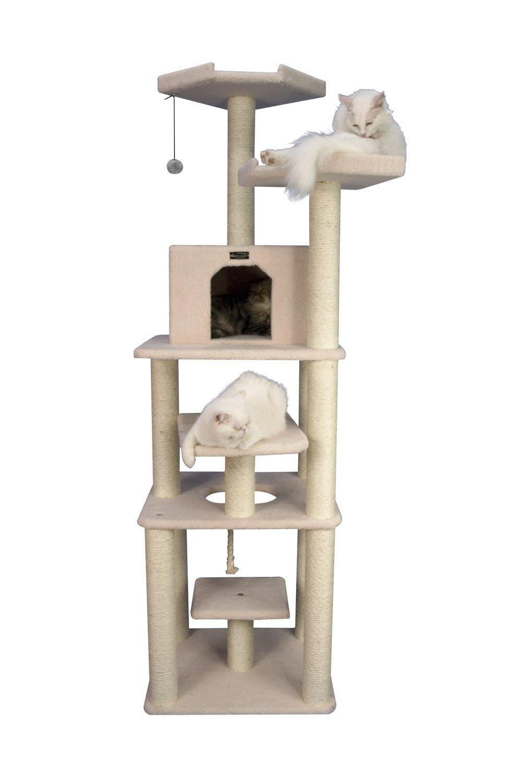Armarkat Cat Tree Model B7801, Alabaster