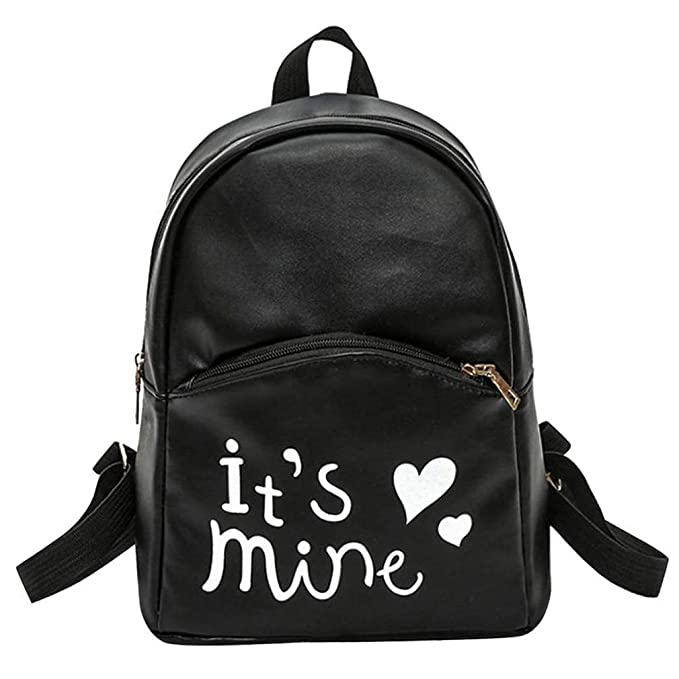 2228769b0e Image Unavailable. Image not available for. Color  Leather Backpack Fashion  Backpacks For Teenage Girls ...