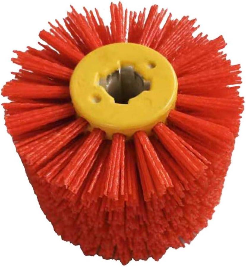 80//240 K/örnung Ausw/ählbar FLAMEER Schleifwalze Satiniermaschine Satinierwalze Schleifwalze Rot 240 K/örnung