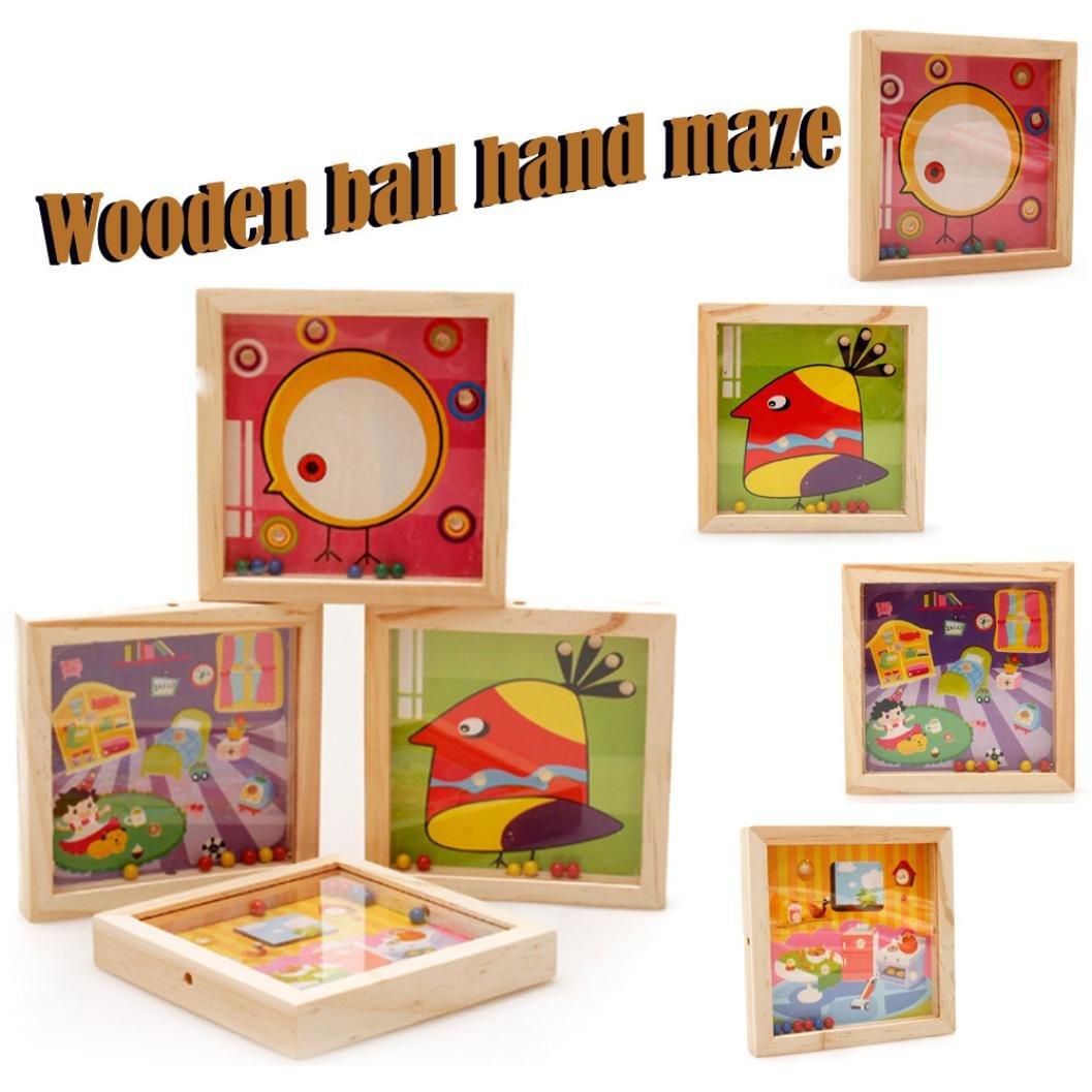 Cocal Wooden Wooden Mini Mini Mazeビーズバランスゲームおもちゃ子供パターンLabyrinthビーズバランシング初期学習赤ちゃんおもちゃ Cocal B07CGYGKW5, ファルチェ:1cc4234e --- webshop.mrf.se