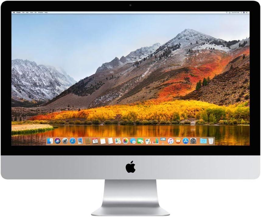 Apple iMac 27 pulgadas pantalla Retina 5K, procesador Intel Core i5 de cuatro núcleos a 3,5 GHz