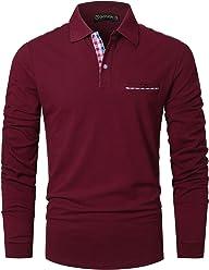 GHYUGR Natale Camicia da Uomo a Manica Lunga Camicetta Maglietta Top Maglie Autunno Inverno Felpe Pullover T Shirt