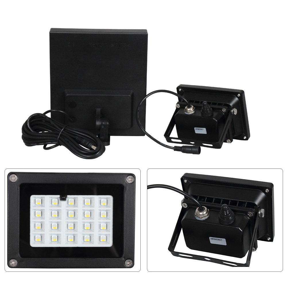 Coloured Flood Light with Remote Control T-SUN 2 Pack 50W LED RGB Floodlight Outdoor Garden Stage Landscape Lighting with UK Plug. 16 Colours 4 Modes Dimmable Decorative Light IP65 Waterproof