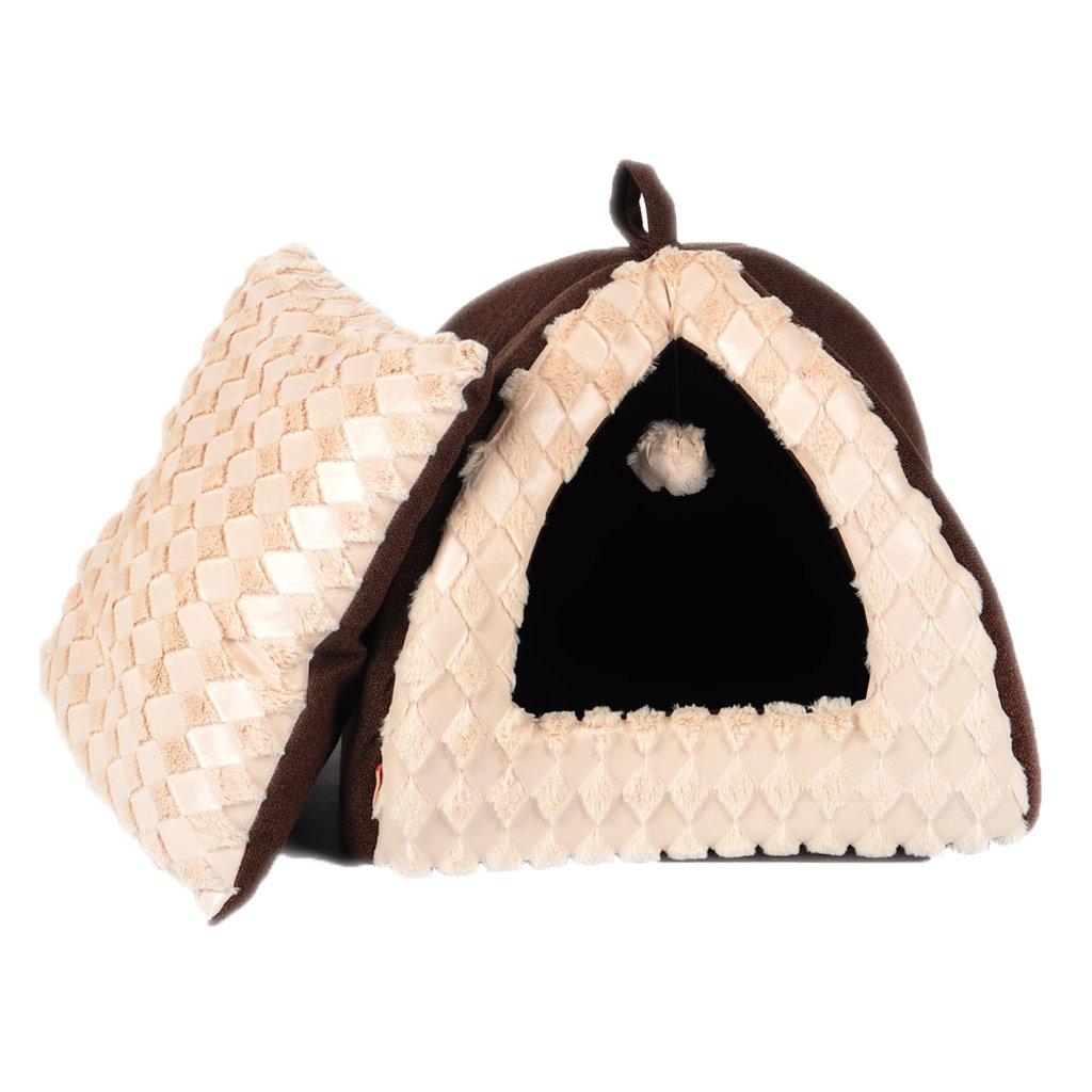 454538cm GAOLILI Cat House Cat Litter Warm Winter Cat Tent Cat Bed Cat House Pet Cat Litter Cat House Cat Litter Cat Cat (Size   45  45  38cm)