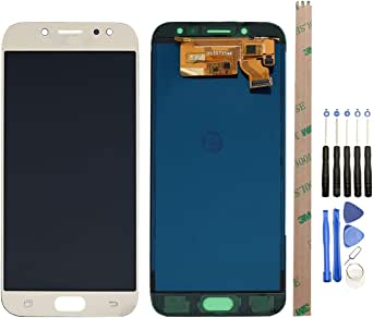 HYYT for Samsung Galaxy J7 Pro 2017 J730G J730 J730F/DSM LCD Display and Touch Screen Digitizer Glass Replacement Assembly