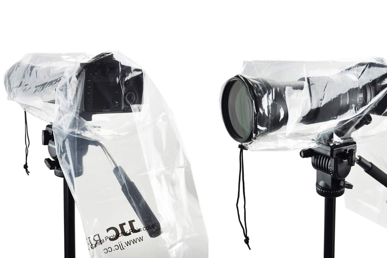 Lluvia Protector de Pantalla para cámaras réflex (Pack de 2 ...