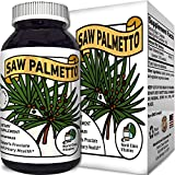 Cheap Saw Palmetto Extract Berry Hair Loss Supplement for Hair Growth for Women and Men and Potent Prostate Support Pills with Pure Saw Palmetto 25% A Natural Acne Skin Care with 500 mg